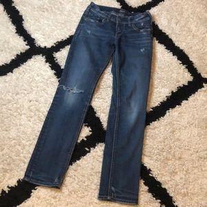 Silver Suki Ankle Slim Jeans